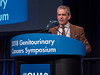 Seth P. Lerner, MD, FACS, giving this year's keynote lecture on urothelial carcinoma during Urothelial Carcinoma: Keynote Lectures