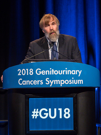Peter Hoskin, MD, FRCP, FRCR, speaks during Welcome and General Session 4: Current and Future Directions of Muscle-Invasive Bladder Cancer