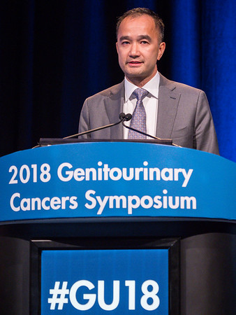 Kim N. Chi, MD, FRCPC, speaks during General Session 2: Emerging Diagnostics and Therapies in Advanced Prostate Cancer