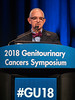 David John Joseph, MD, FRANZCP, presents Abstract 1 during General Session 1