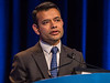 Sumanta Pal, MD, discussing Abstracts 578 and 579 during Oral Abstract Session C: Renal Cell Cancer