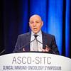 Ezra E.W. Cohen, MD, FRCPC, FASCO, discusses Abstracts 103 and 104 during Oral Abstract Session C: Biomarkers and Inflammatory Signatures