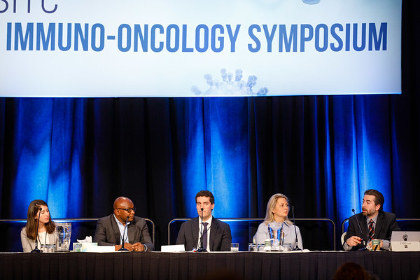Panel discussion during General Session 7: Emerging Targets in Immunotherapy