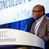 Kunle Odunsi, MD, PhD, speaks during General Session 7: Emerging Targets in Immunotherapy