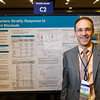 "Abstract 25, ""Genomic biomarkers stratify response to PD-1 checkpoint blockade,"" presented by Tanguy Y. Seiwert, MD, during Poster Session B"