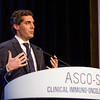 Michael A. Postow, MD, speaks during General Session 7: Emerging Targets in Immunotherapy
