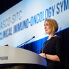 "Emma Reilly, presenting Abstract 103, ""Exploration of the cGAS-STING pathway in prostate cancer,"" during Oral Abstract Session C: Biomarkers and Inflammatory Signatures"