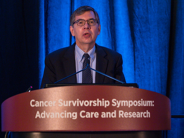 Paul Jacobsen, MD, presents Abstract 2 during Oral Abstract Session A