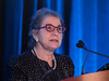 Patricia Ganz, MD, FASCO, presenting the Ellen L. Stovall Lecture for Advancement of Cancer Survivorship Care