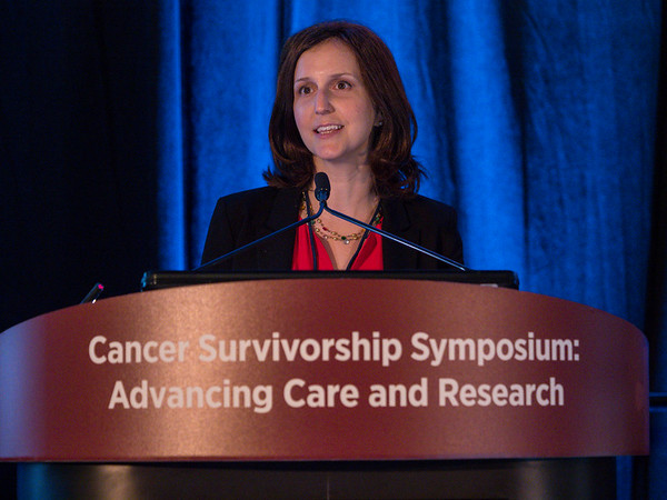 """Samantha Watson presenting """"Patient Perspective,"""" - General Session 1"""