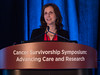 "Samantha Watson presenting ""Patient Perspective,"" - General Session 1"
