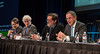Panelists speak during Oral Abstract Session B
