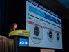 Jinsil Seong, MD, PhD, speaks during General Session 5