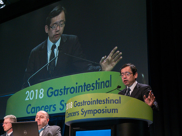 Mr. Daishi Morimoto presents during General Session 2