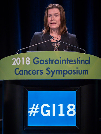 Laura Dawson, MD, Steering Committee Chair, during Opening General Session