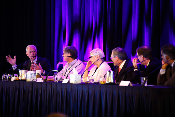 Faculty panel during General Session