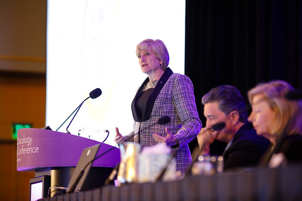 AMA President Barbara McAneny, MD, during General Session