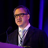 Peter P. Yu, MD, FACP, FASCO during General Session