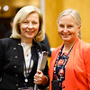 Robin Zon, MD, FACP, FASCO, and Linda Bosserman, MD, FACP, FASCO, during Networking Session at the ASCO Oncology Practice Conference