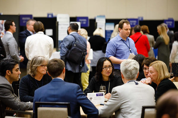 Attendees and faculty during Networking Session at the ASCO Oncology Practice Conference