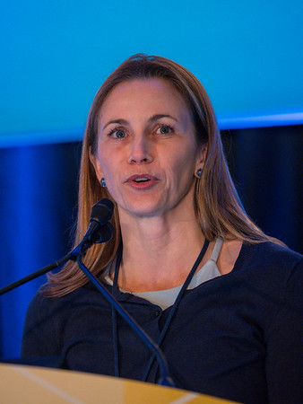 Tatiana M. Prowell, MD, during General Session 6: Show Me the Money! Financial Toxicity During Treatment and Beyond