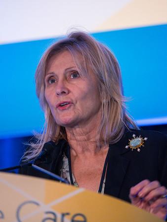 Silvia Formenti, MD, during General Session 5: Immunotherapeutic Quandaries