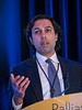 "Mihir M. Kamdar, MD, Massachusetts General Hospital, presenting Abstract 76, ""A Randomized Controlled Trial of a Novel Artificial-Intelligence Based Smartphone Application to Optimize the Management of Cancer-Related Pain,"" during Oral Abstract Session A"