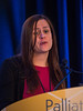 Elizabeth Jane Cathcart-Rake, MD, Mayo Clinic, presenting Abstract 184: Immunotherapy-Related Toxicities: More Common Than Originally Reported? during General Session 5: Immunotherapeutic Quandaries