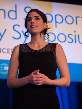 Suleika Jaouad during Welcome and Keynote Lecture