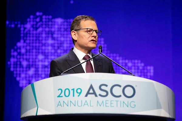 Opening Session Clifford A. Hudis, MD, FACP, FASCO, introducing 2018-2019 ASCO President, Monica M. Bertagnolli MD, FACS, FASCO
