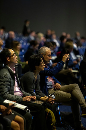 Oral Abstract Session Developmental Immunotherapy and Tumor Immunobiology The audience listens to the Oral Abstract Session Developmental Immunotherapy and Tumor Immunobiology