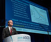 Plenary Session Wells A. Messersmith, FACP, MD discusses Abstract  LBA4