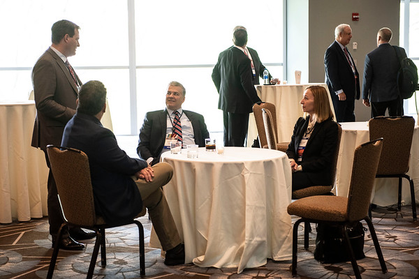 2019 Corporate Conquerors Circle Meet and Greet Reception 2019 Corporate Conquerors Circle Meet and Greet attendees mingling