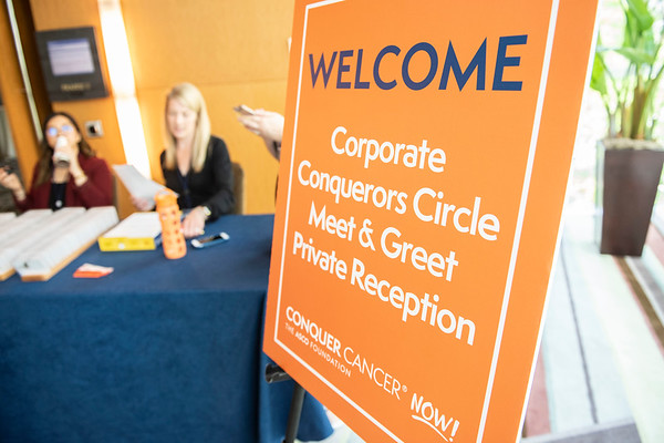 2019 Corporate Conquerors Circle Meet and Greet Reception Registration