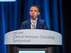 David James Pinato, MD, PhD, MRCP, presents Abstract 147 during Oral Abstract Session B