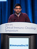 Dr. Arnav Mehta presents Abstract 130 during Oral Abstract Session B