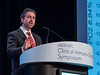 Dr. Jason J. Luke discusses Abstract 130 during Oral Abstract Session B