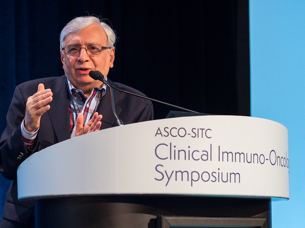 "Rafi Ahmed, PhD delivers keynote lecture, ""T-Cell Differentiation and Exhaustion"""