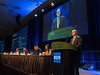 Dr. William Chapman presents Abstract 486 during Rapid Abstract Session C
