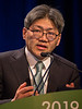 Takao Takahashi, MD, PhD, Gifu University Graduate School of Medicine, presenting Abstract 484 during Rapid Abstract Session C