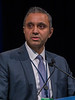 Dr. Arjun Vasant Balar presents Abstract 350 during Welcome and General Session 4