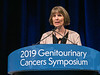 Dr. Lori Wood discusses Abstracts 543 and 544 during Oral Abstract Session C