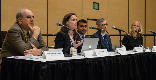 Panel speakers during Breakout Session: Controversies in Data Interpretation
