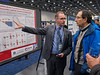 "Abstract 228, ""Results of a 50 patient single-centre phase II prospective trial of Lutetium-177 PSMA-617 theranostics in metastatic castrate-resistant prostate cancer,"" presented by Dr. Michael Hofman, right, and John Viloet, left, during Poster Session A"