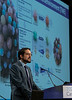 Pavlos Msaouel, MD, PhD, presents Abstract 612 during Oral Abstract Session C: Renal Cell Cancer