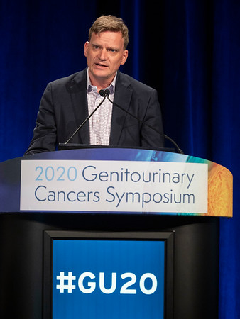 Hans J. Hammers, MD, PhD, presents Abstract 614 during Oral Abstract Session C: Renal Cell Cancer
