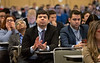 Attendees listen to presentations during during Oral Abstract Session C: Renal Cell Cancer