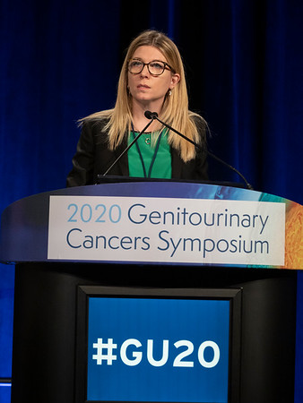 Cristina Masini, presents Abstract 613 during Oral Abstract Session C: Renal Cell Cancer