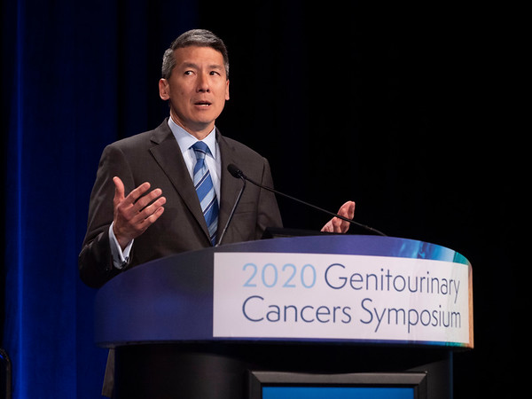 Daniel W. Lin, MD, discusses Abstracts 276 and 277 during Oral Abstract Session A: Prostate Cancer
