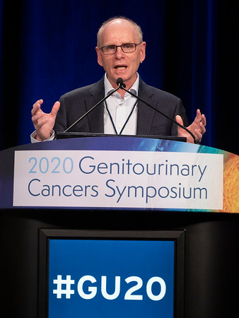 Steering Committee Chair Dr. William L. Dahut (National Cancer Institute) welcomes attendees to Day 1 of the Symposium. during Welcome of the Day Localized Prostate Cancer: Individualizing Diagnosis, Staging, and Treatment